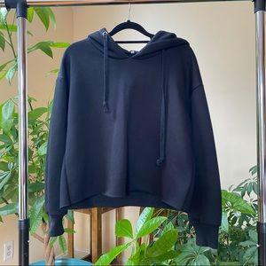 Black Pullover Hoodie Sweatshirt
